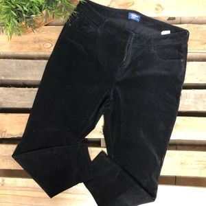 Old Navy velvet pants Rockstar Mid-rise size 18